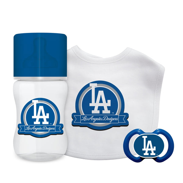 3-Piece Gift Set - Los Angeles Dodgers-justbabywear
