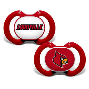 Gen. 3000 Pacifier 2-Pack - Louisville, University of-justbabywear