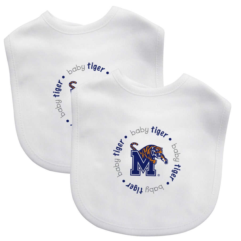 Bibs (2 Pack) - Memphis, University of-justbabywear