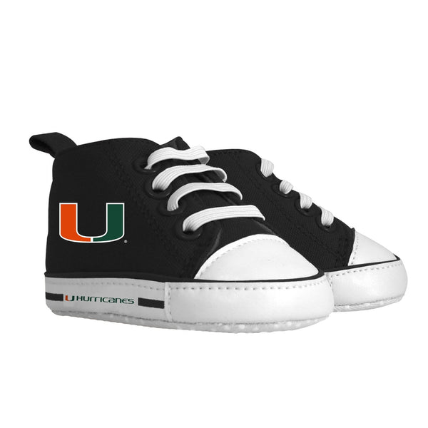 Pre-walker Hightop (1 Size fits Most) (Hanger) - Miami, University of-justbabywear