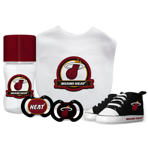5 Piece Gift Set - Miami Heat-justbabywear