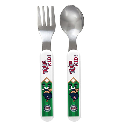 Fork & Spoon Set - Minnesota Twins-justbabywear