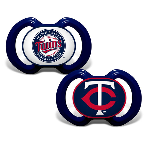 Gen. 3000 Pacifier 2-Pack - Minnesota Twins-justbabywear