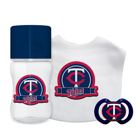 3-Piece Gift Set - Minnesota Twins-justbabywear
