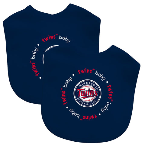 Bibs (2 Pack) - Minnesota Twins-justbabywear