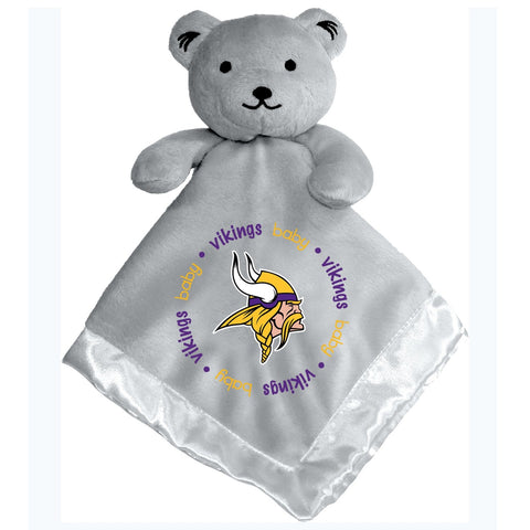Gray Security Bear - Minnesota Vikings-justbabywear