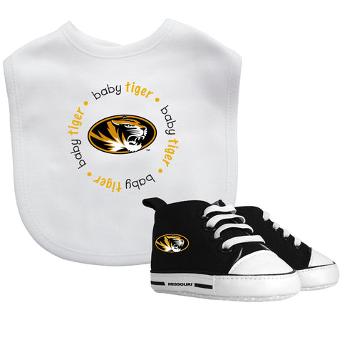 Bib & Prewalker Gift Set - Missouri, University of-justbabywear