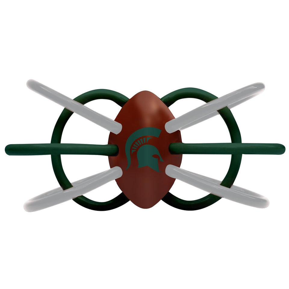 Teether/Rattle - Michigan State University-justbabywear