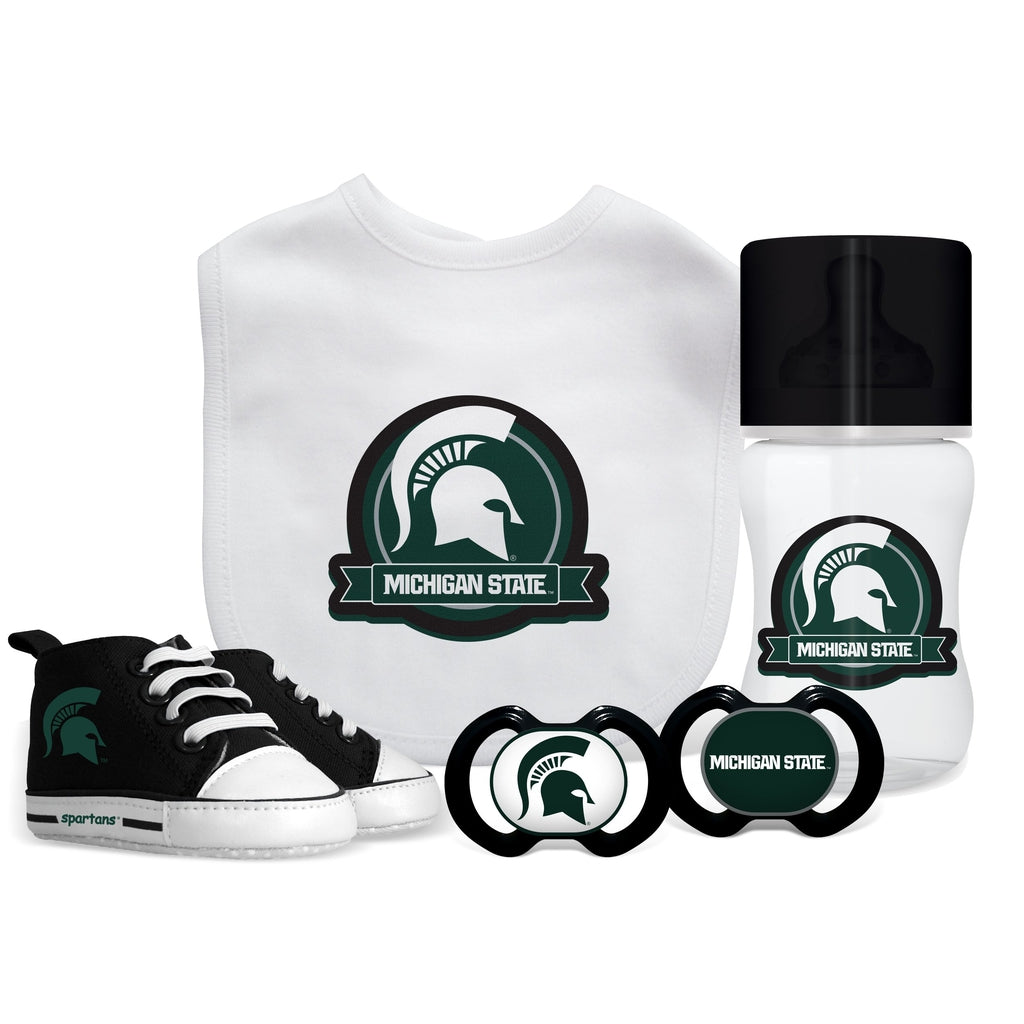 5 Piece Gift Set - Michigan State University-justbabywear