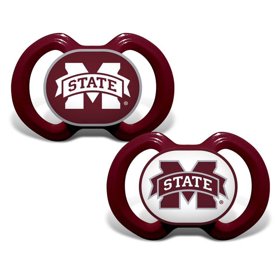 Gen. 3000 Pacifier 2-Pack - Mississippi State University-justbabywear