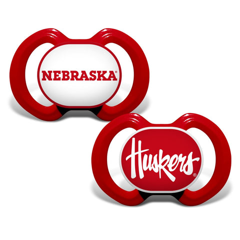 Gen. 3000 Pacifier 2-Pack - Nebraska, University of-justbabywear