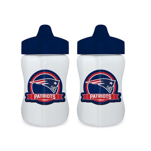Sippy Cup (2 Pack) - New England Patriots-justbabywear