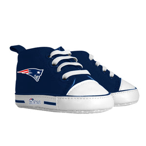 Pre-walker Hightop (1 Size fits Most) (Hanger) - New England Patriots-justbabywear