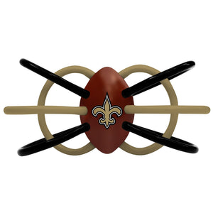 Teether/Rattle - New Orleans Saints-justbabywear