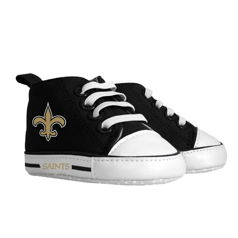 Pre-walker Hightop (1 Size fits Most) (Hanger) - New Orleans Saints-justbabywear