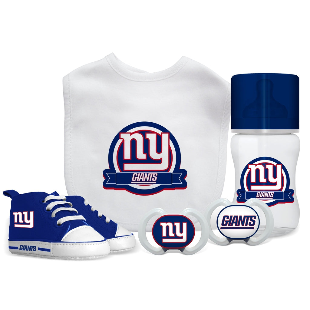 5 Piece Gift Set - New York Giants-justbabywear