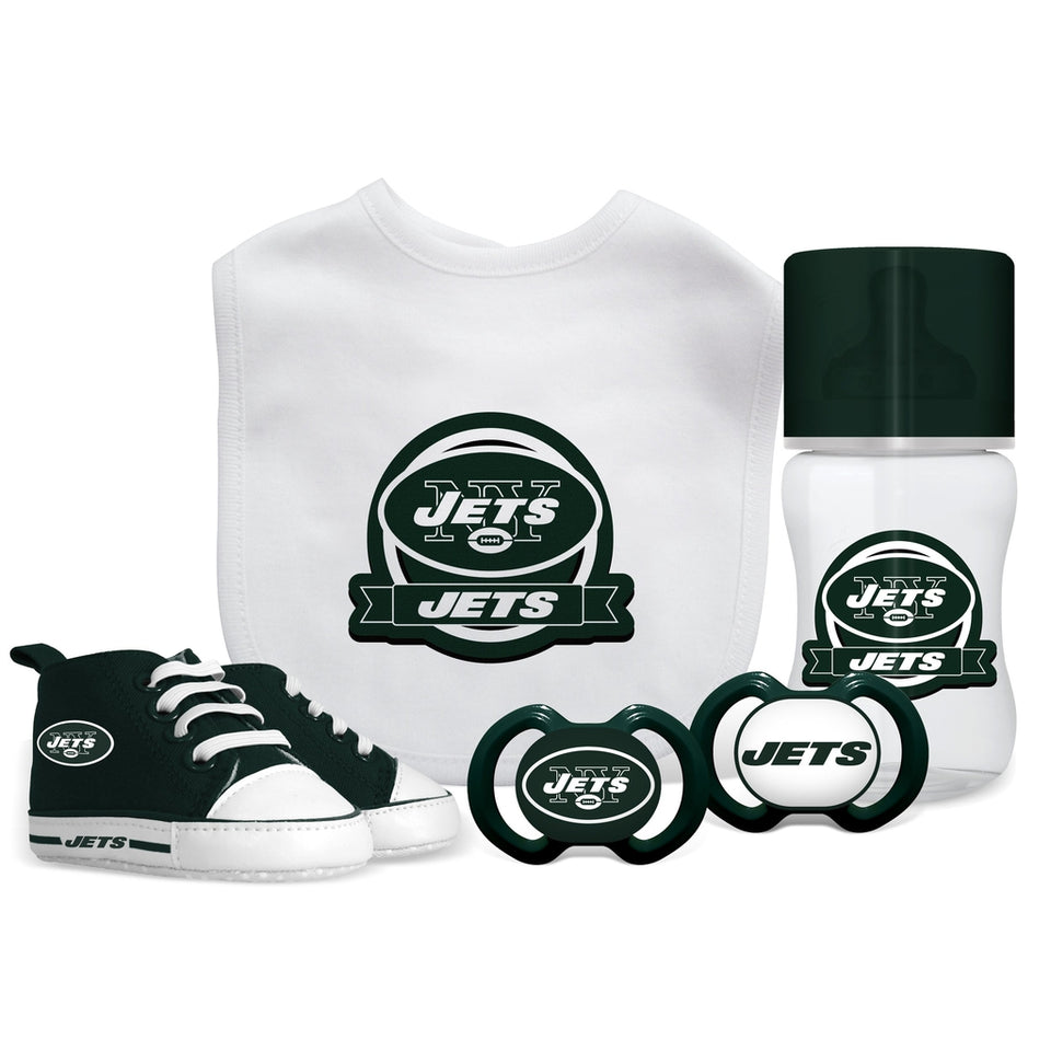 5 Piece Gift Set - New York Jets-justbabywear