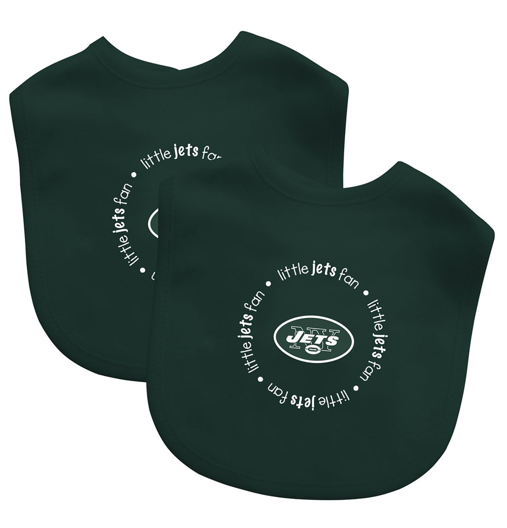 Bibs (2 Pack) - New York Jets-justbabywear