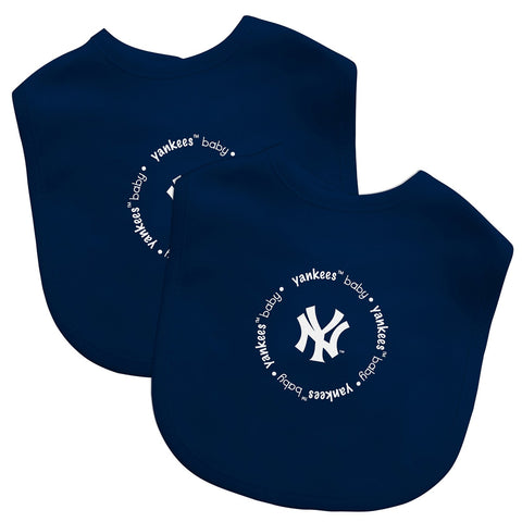Bibs (2 Pack) - New York Yankees-justbabywear