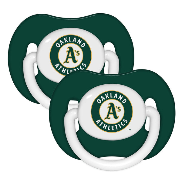 Pacifier (2 Pack) - Oakland Athletics-justbabywear