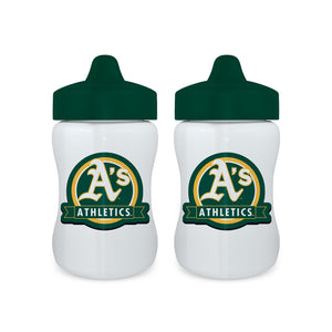 Sippy Cup (2 Pack) - Oakland Athletics-justbabywear