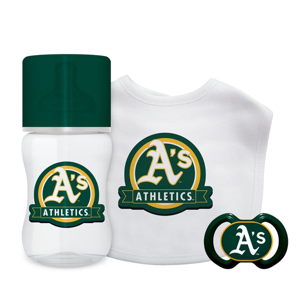 3-Piece Gift Set - Oakland Athletics-justbabywear