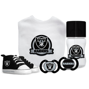 5 Piece Gift Set - Oakland Raiders-justbabywear