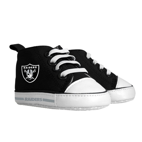 Pre-walker Hightop (1 Size fits Most) (Hanger) - Oakland Raiders-justbabywear
