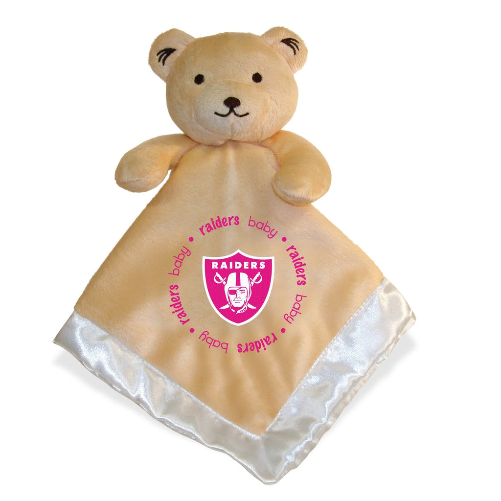 Security Bear - Pink Logo - Oakland Raiders-justbabywear
