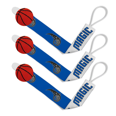 Pacifier Clip (3 Pack) - Orlando Magic-justbabywear