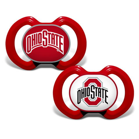 Gen. 3000 Pacifier 2-Pack - Ohio State University-justbabywear