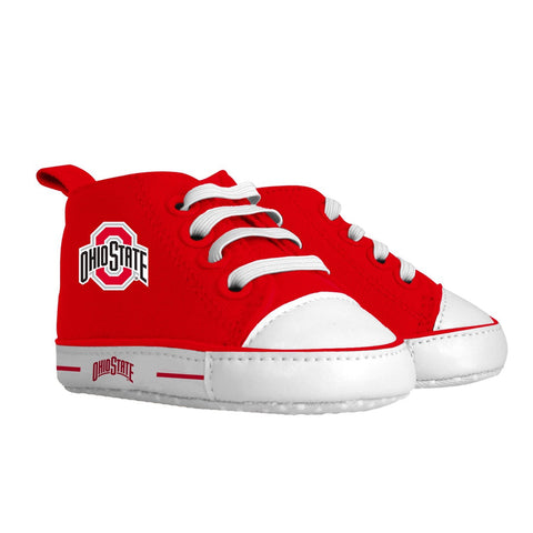 Pre-walker Hightop (1 Size fits Most) (Hanger) - Ohio State University-justbabywear
