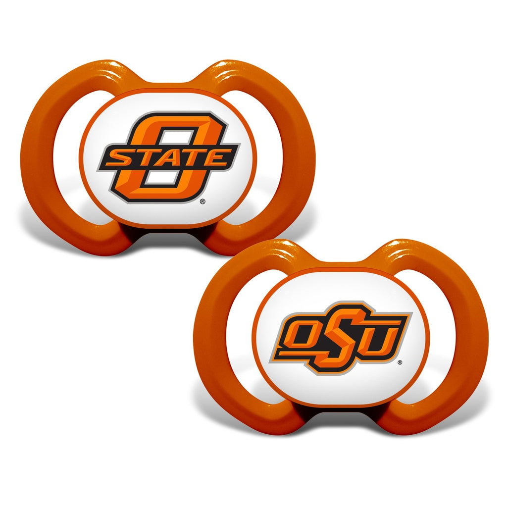 Gen. 3000 Pacifier 2-Pack - Oklahoma State University-justbabywear