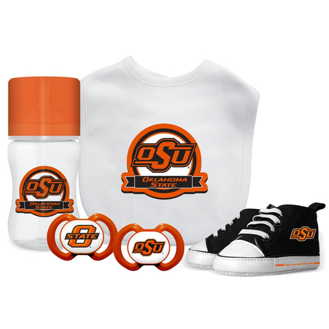5 Piece Gift Set - Oklahoma State University-justbabywear
