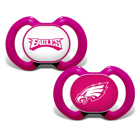 Gen. 3000 Pacifier 2-Pack - Pink - Philadelphia Eagles-justbabywear