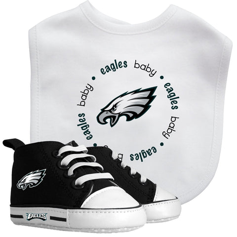 Bib & Prewalker Gift Set - Philadelphia Eagles-justbabywear