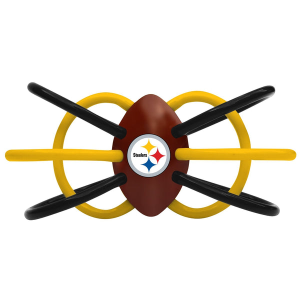 Teether/Rattle - Pittsburgh Steelers-justbabywear