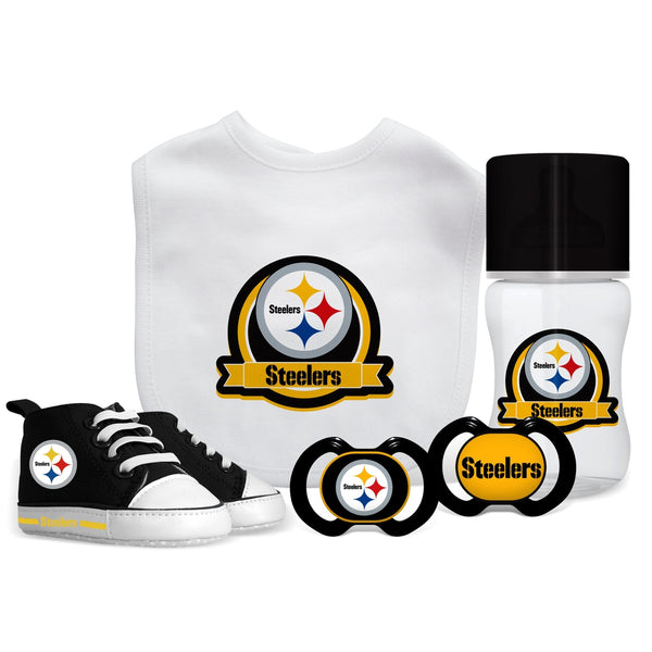 5 Piece Gift Set - Pittsburgh Steelers-justbabywear