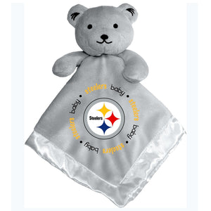 Gray Security Bear - Pittsburgh Steelers-justbabywear
