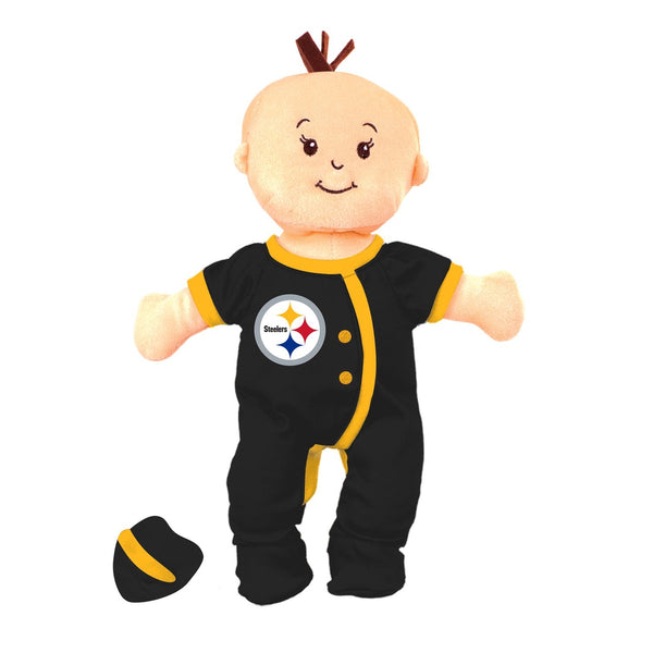 Team Doll - Girl - Pittsburgh Steelers-justbabywear