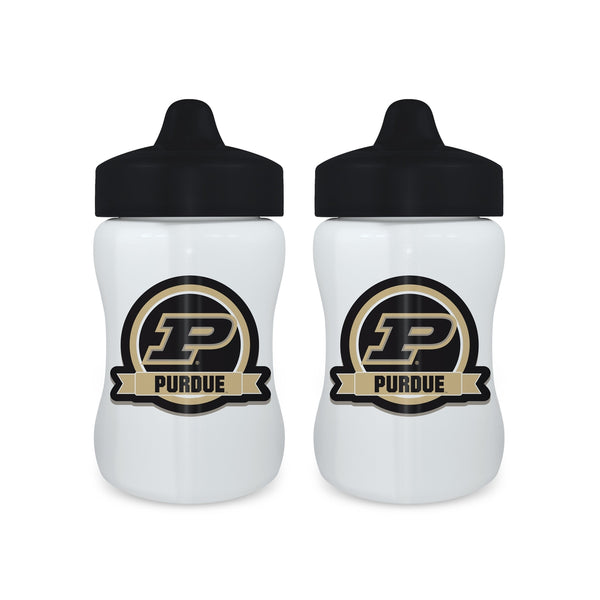 Sippy Cup (2 Pack) - Purdue University-justbabywear