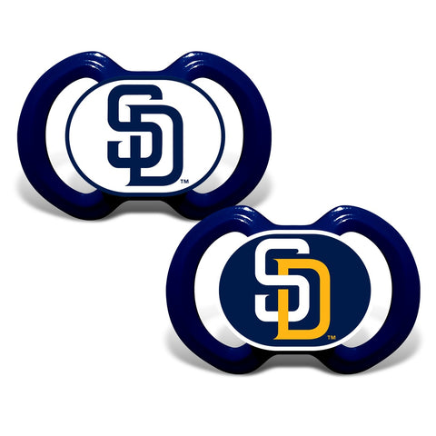 Gen. 3000 Pacifier 2-Pack - San Diego Padres-justbabywear