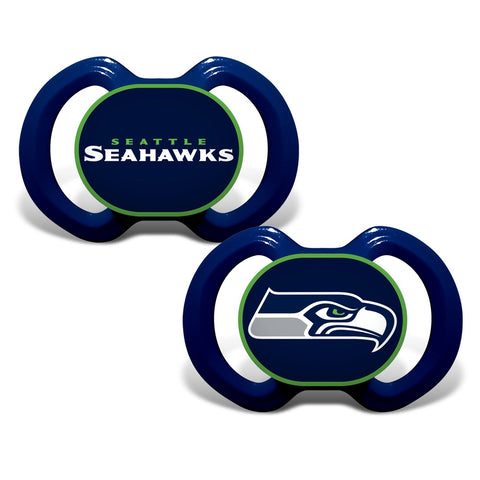 Gen. 3000 Pacifier 2-Pack - Seattle Seahawks-justbabywear