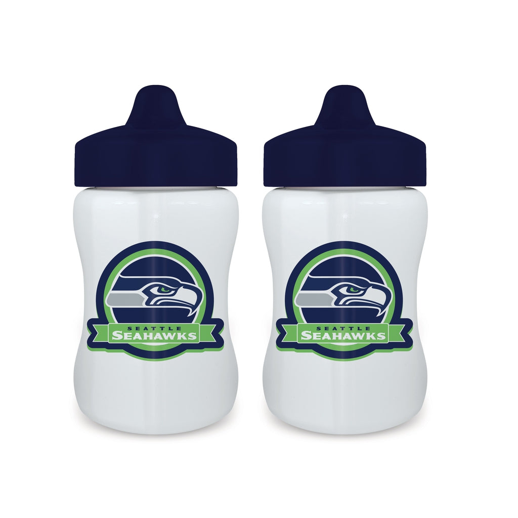 Sippy Cup (2 Pack) - Seattle Seahawks-justbabywear