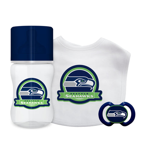 3-Piece Gift Set - Seattle Seahawks-justbabywear