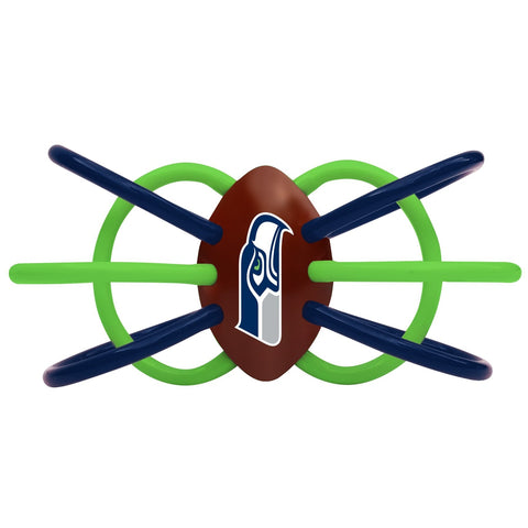 Teether/Rattle - Seattle Seahawks-justbabywear