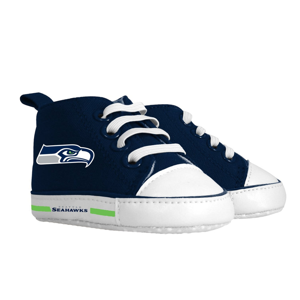 Pre-walker Hightop (1 Size fits Most) (Hanger) - Seattle Seahawks-justbabywear