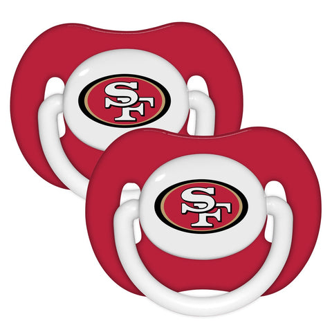Pacifier (2 Pack) - San Francisco 49ers-justbabywear
