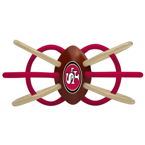 Teether/Rattle - San Francisco 49ers-justbabywear