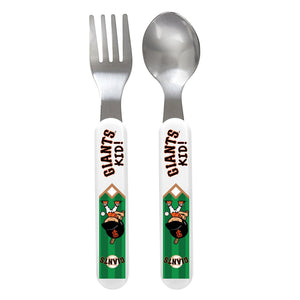 Fork & Spoon Set - San Francisco Giants-justbabywear